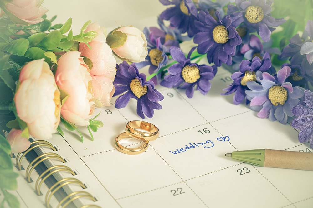 Things To Do the Week before Wedding Day